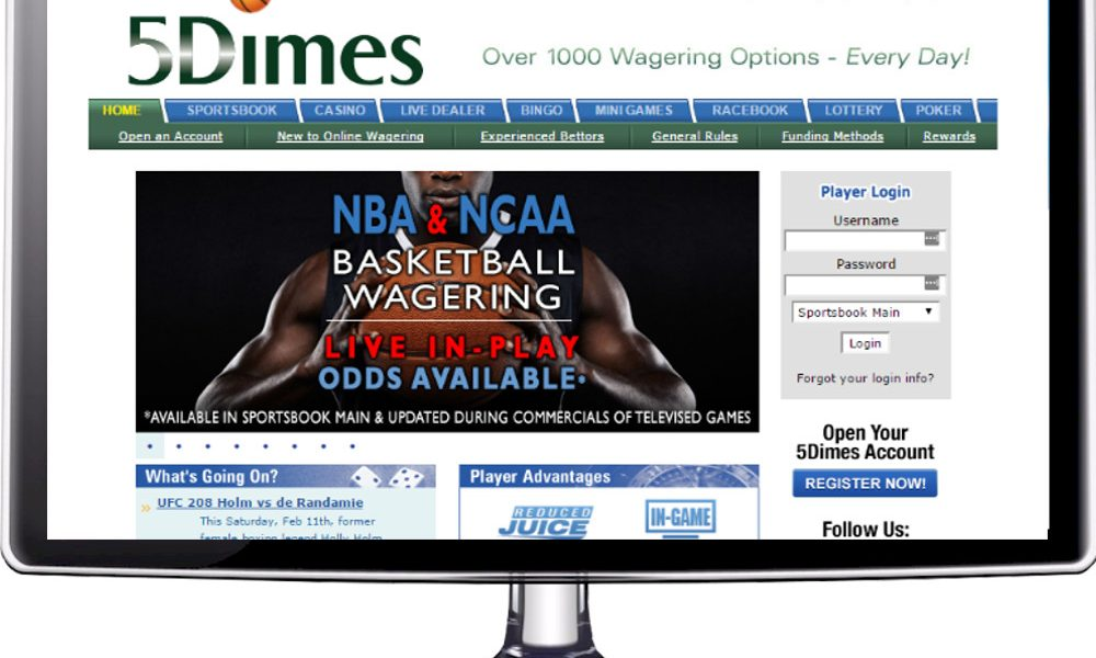 5 Dimes Sportsbook Closing USA Operations
