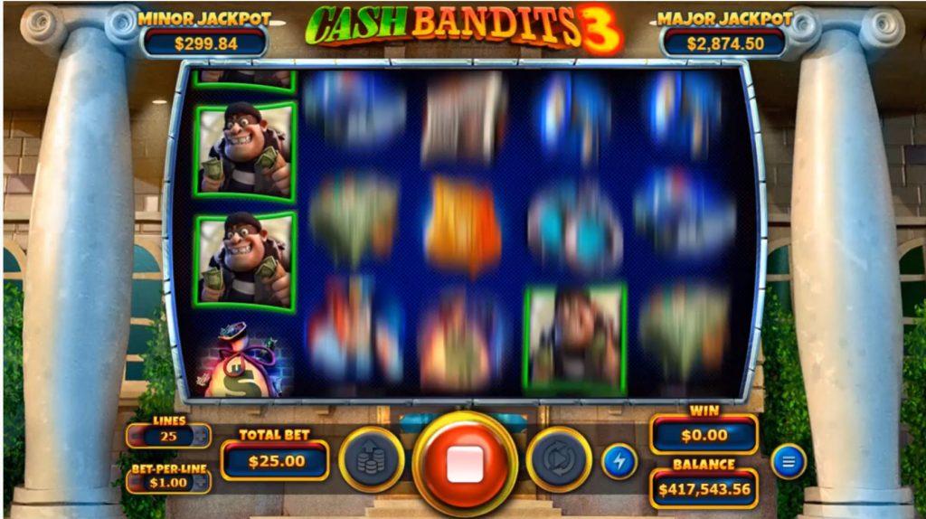 cash bandits 3 slot