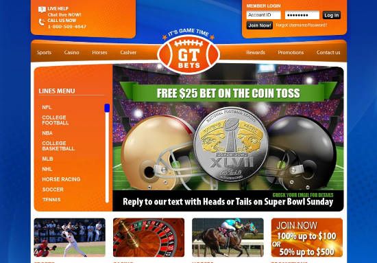 GTBETS Promo Code Free Bet Bonus Exclusive