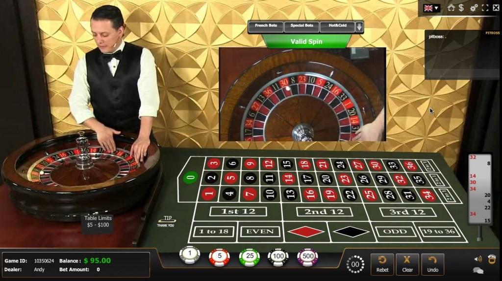 live casino for Australians