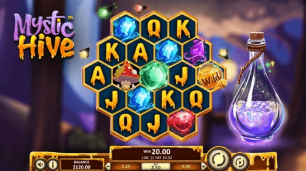 mystic hive betsoft slot