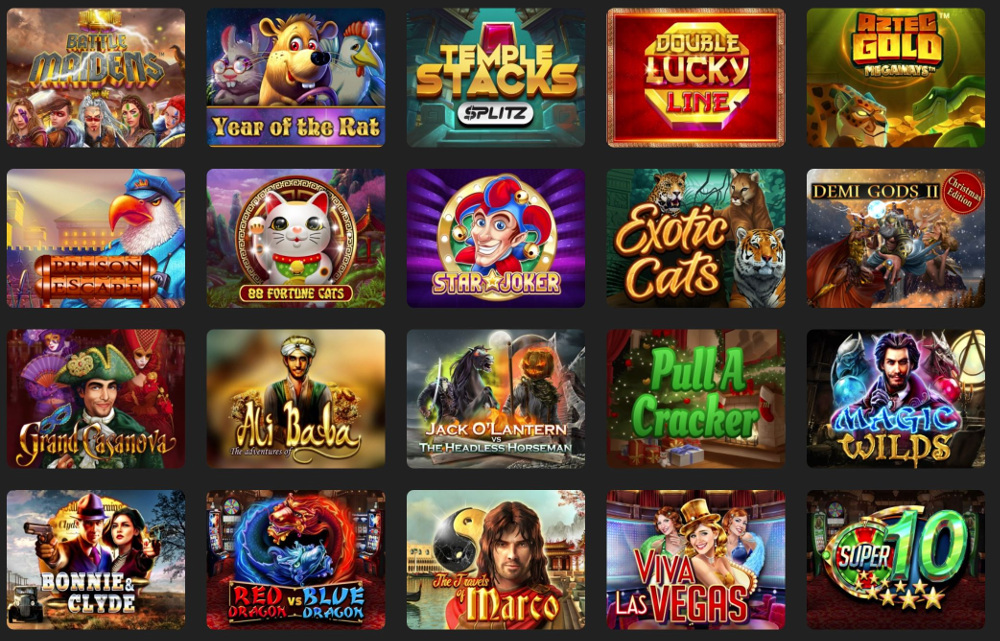 Online Slot Machine Features