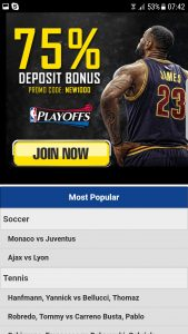 sportsbetting ag bonus for mobiles