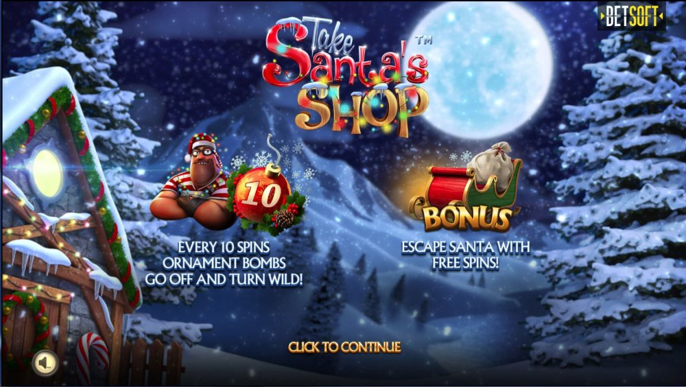 Take Santa's Shop Slot Review