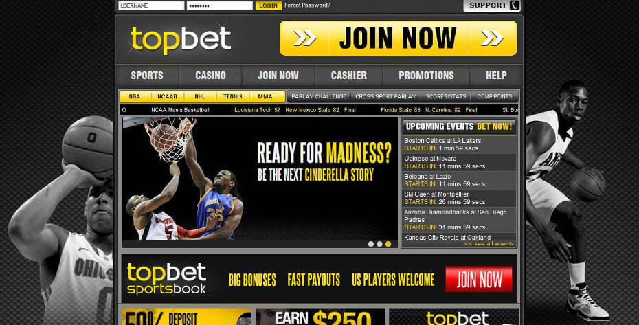 TopBet Review – Promo Code