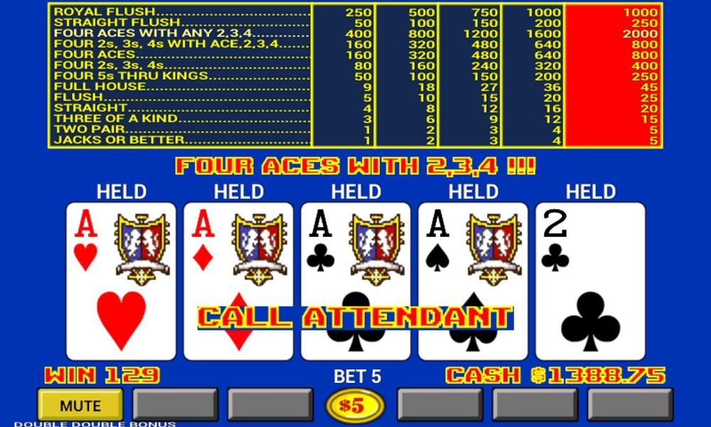 How To Play Video Poker Online