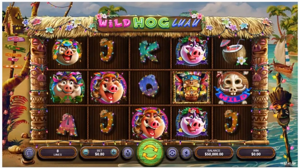 Wild Hog Luau Slot Review
